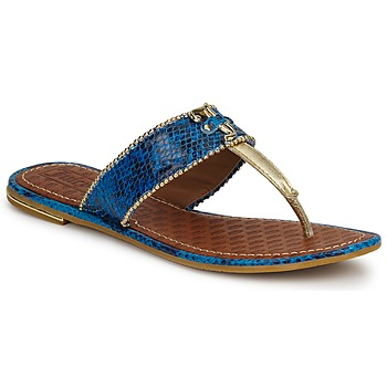 Chaussures Femme Sandales et Nu-pieds Juicy Couture ADELINE BRIGHT BLUE SNAKE