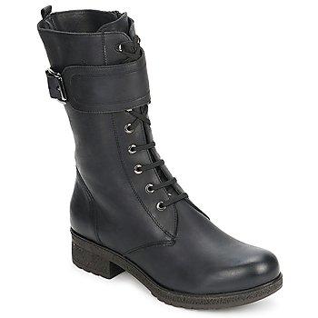 Chaussures Femme Bottes ville Unisa BLACK Black