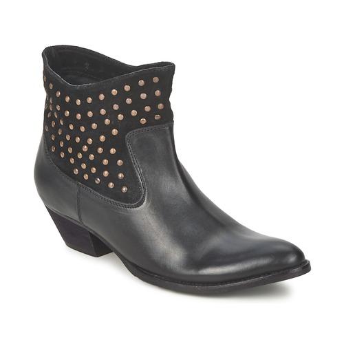 Chaussures Femme Bottines Friis & Company DUBAI FLIC Noir