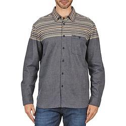 Vêtements Homme Chemises manches longues Element LENOX Gris