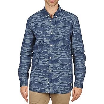 Vêtements Homme Chemises manches longues Suit ROD Bleu