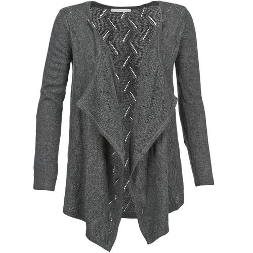 Vêtements Femme Gilets / Cardigans Betty London DINNA Gris