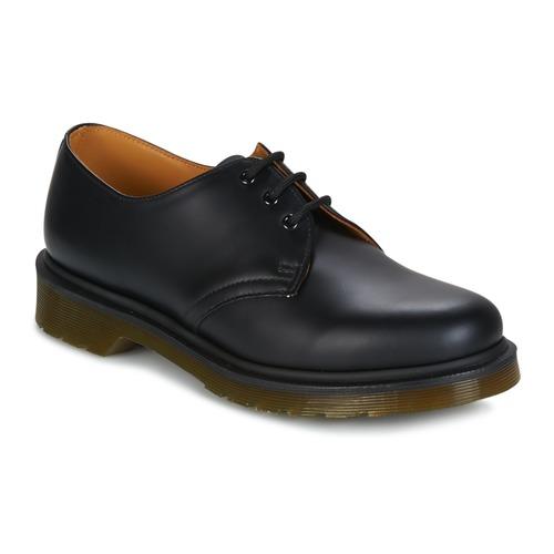 Dr Martens 1461 Pw Noir - Chaussures Derbies Homme