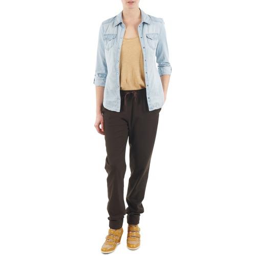 Vêtements Femme Pantalons fluides / Sarouels Bensimon BRODY Marron