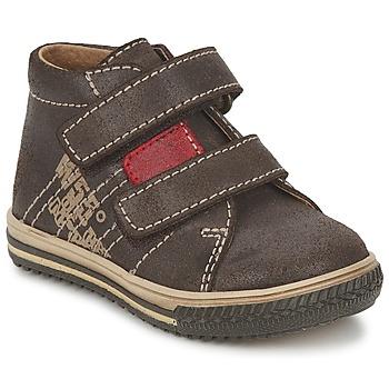 Chaussures Air max tnGarçon Baskets montantes Citrouille et Compagnie ESCLO Marron / Rouge
