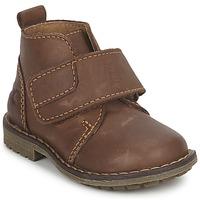 Chaussures Garçon Boots Citrouille et Compagnie MELDUNE Marron