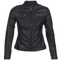 Vêtements Femme Vestes en cuir / synthétiques Moony Mood IDESCUNE Noir