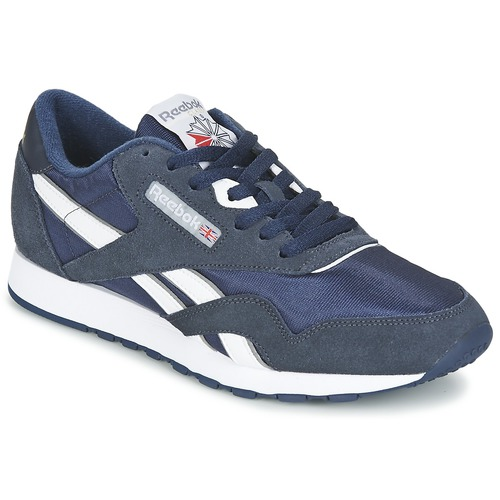 02ba62f3f8846 Reebok Classic CLASSIC NYLON Bleu - Chaussure pas cher avec Shoes.fr ...