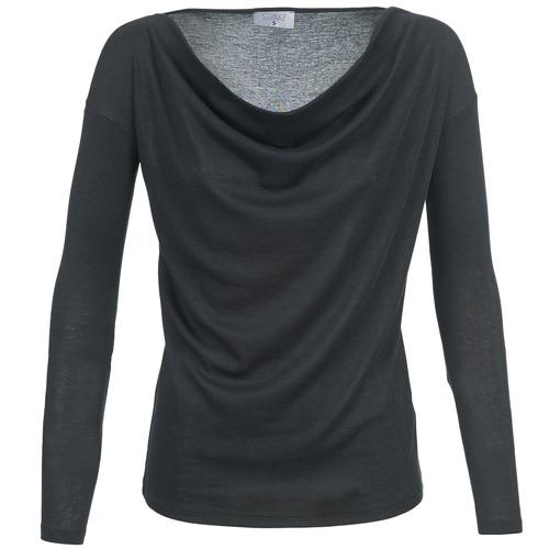 Vêtements Femme T-shirts manches longues Casual Attitude DELINDA Noir