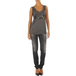 Vêtements Femme Jeans slim Diesel GETLEGG L.32 TROUSERS Gris