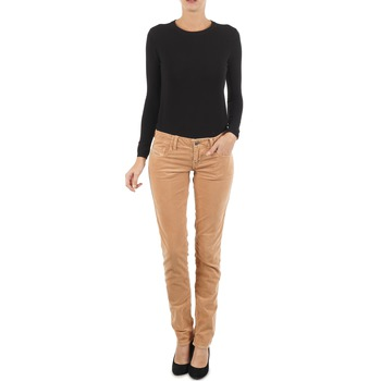 Vêtements Femme Jeans slim Diesel GRUPEE-F TROUSERS Beige