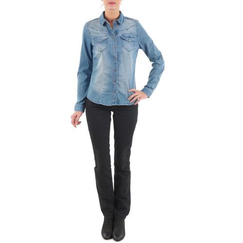 Vêtements Femme Jeans droit Diesel MYBOY TROUSERS Noir