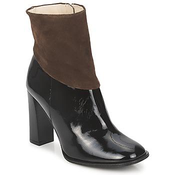 Chaussures Femme Bottines Paco Gil MERLOUNI Noir / Marron
