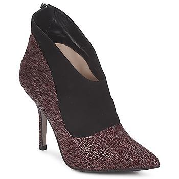 Chaussures Femme Low boots Paco Gil BILINE Bordeaux / Noir
