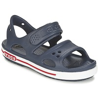 Chaussures Air max tnGarçon Sandales et Nu-pieds Crocs CROCBAND II SANDAL PS Marine / Blanc