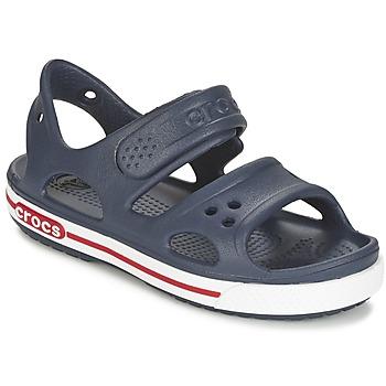 Chaussures Enfant Sandales et Nu-pieds Crocs CROCBAND II SANDAL PS Marine / Blanc