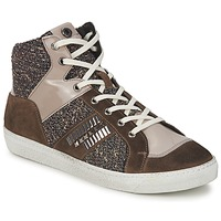 Chaussures Femme Baskets montantes Janet Sport ERICMARTIN Taupe