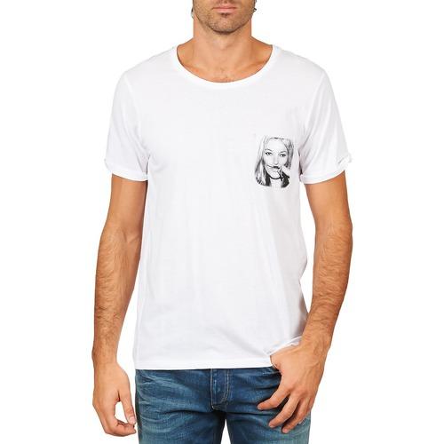 Vêtements Homme T-shirts manches courtes Eleven Paris KMPOCK MEN Blanc