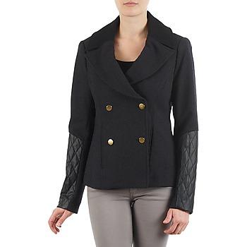 Vêtements Femme Vestes / Blazers Manoukian MEELTON Noir