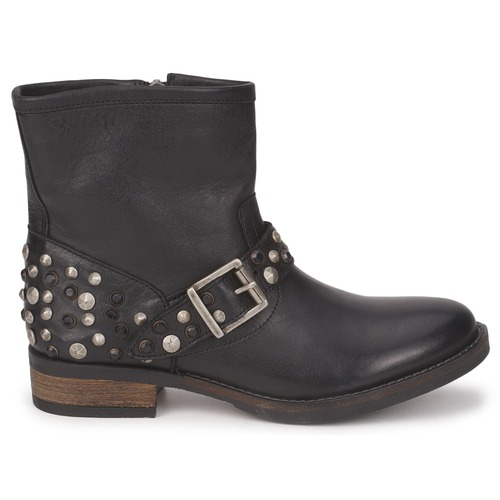 Pieces ISADORA LEATHER BOOT Noir