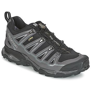 Chaussures-de-randonnee Salomon X ULTRA 2 GTX Noir / Gris
