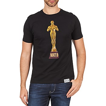 Vêtements Homme T-shirts manches courtes Wati B TSOSCAR Noir