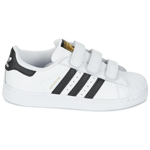 adidas Originals SUPERSTAR FOUNDATIO Blanc / noir