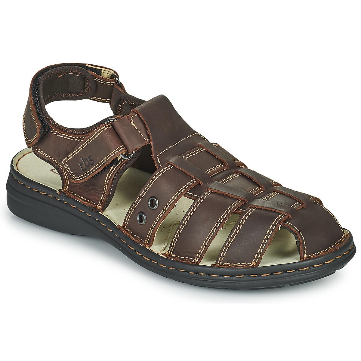 TBS BARROW Marron - Livraison Gratuite avec - Chaussures Sandale Homme