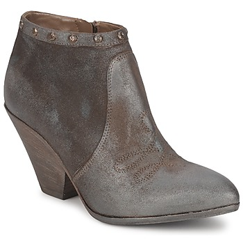 Chaussures Femme Low boots Strategia MIARO Taupe