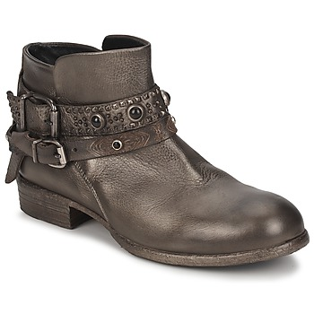 Chaussures Femme Boots Strategia YIHAA Argent