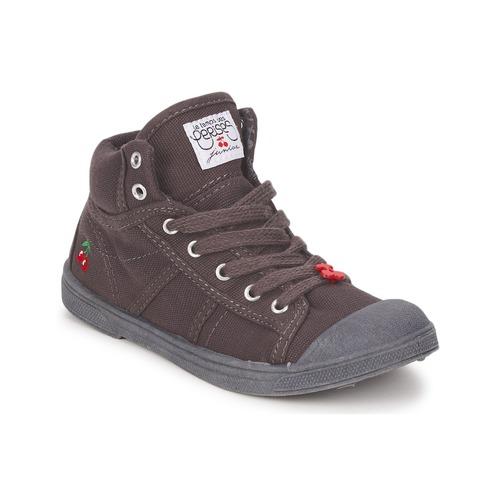 Chaussures Enfant Baskets montantes Le Temps des Cerises BASIC-03 KIDS Marron