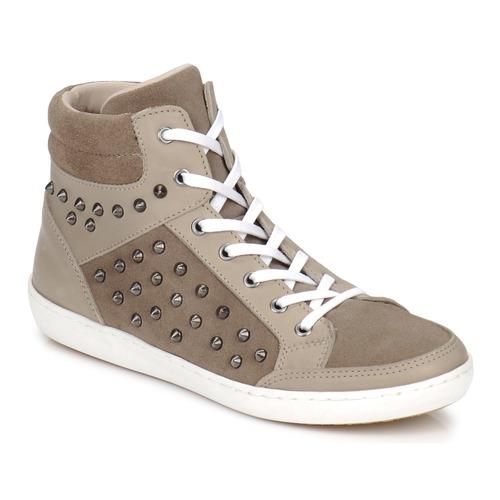 Chaussures Femme Baskets montantes Yurban ALTOUVE Taupe
