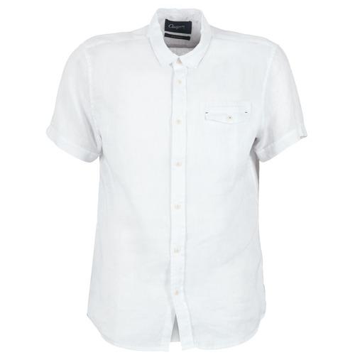Vêtements Homme Chemises manches courtes Chevignon C-LINEN Blanc