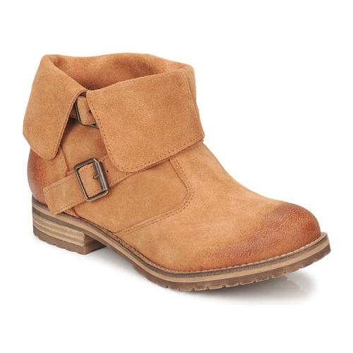 Chaussures Femme Boots Casual Attitude ELDONE Marron