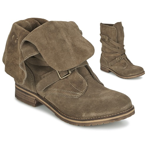Chaussures Femme Boots Casual Attitude GRAVINE Marron