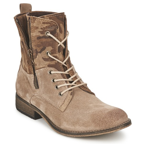 Chaussures Femme Boots Casual Attitude GRIVO Taupe
