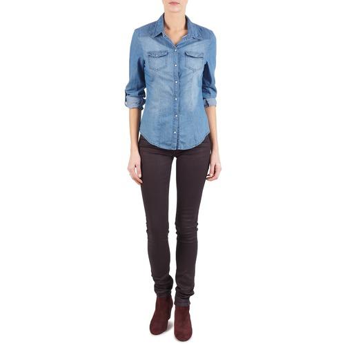 Vêtements Femme Jeans slim Replay LUZ Violet