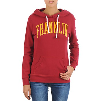 Vêtements Femme Sweats Franklin & Marshall TOWNSEND Rouge