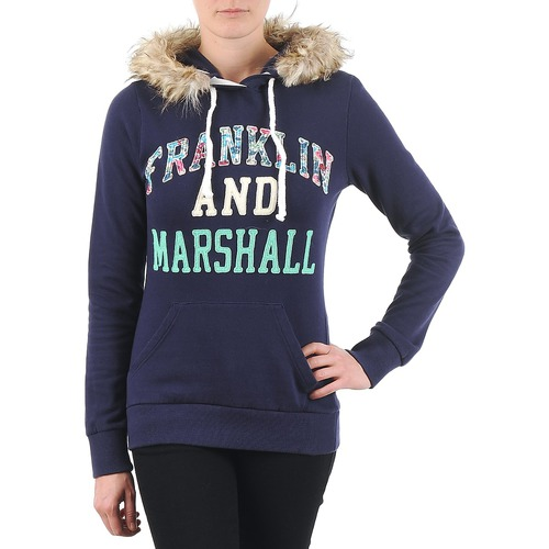 Vêtements Femme Sweats Franklin & Marshall COWICHAN Marine
