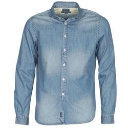 Vêtements Homme Chemises manches longues Façonnable PLUSAMO Bleu