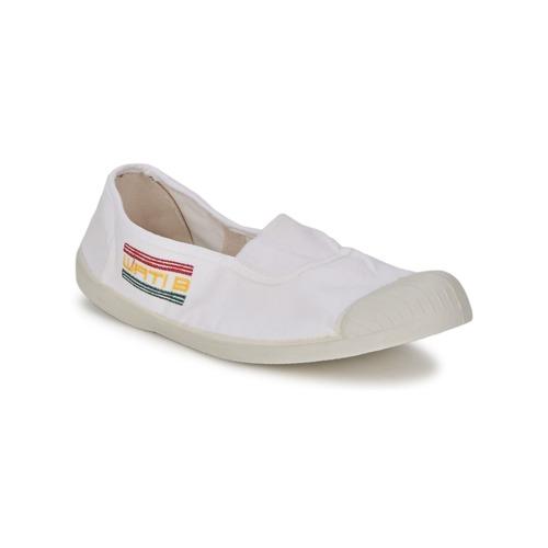 Chaussures Femme Ballerines / babies Wati B LYNDA Blanc