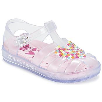 Chaussures Fille Sandales et Nu-pieds Agatha Ruiz de la Prada BASILA Blanc