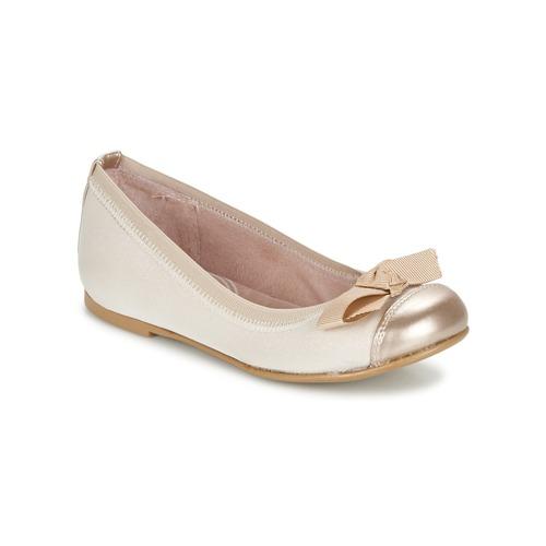 Chaussures Fille Ballerines / babies Garvalin MAT Beige
