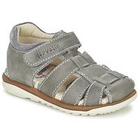 Chaussures Air max tnGarçon Sandales et Nu-pieds Garvalin GALERA Gris