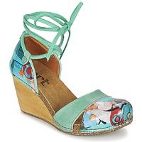 Chaussures Femme Sandales et Nu-pieds Art VALBY 499 Vert