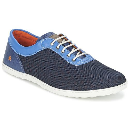Chaussures Homme Baskets basses Art QWERTY Bleu