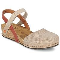 Chaussures Femme Sandales et Nu-pieds Art POMPEI 739 Beige