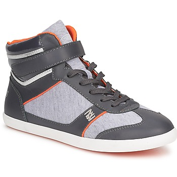 Basket montante Dorotennis MONTANTE LACETS VELCRO Anthracite
