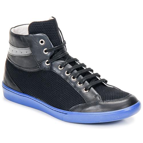 Chaussures Homme Baskets montantes Swear GENE 3 BLACK BLUE