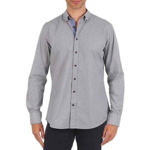 Vêtements Homme Chemises manches longues Hackett MEDALLION MULTI BD Bleu